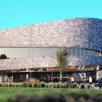 Artist impression of the Christchurch Convention Centre