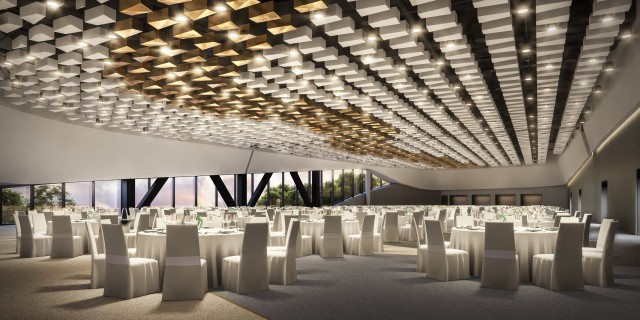 Artist impression - banquet hall