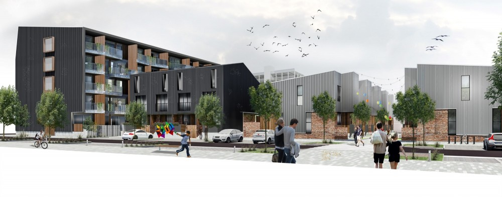 Artist impression - Liverpool Apartments