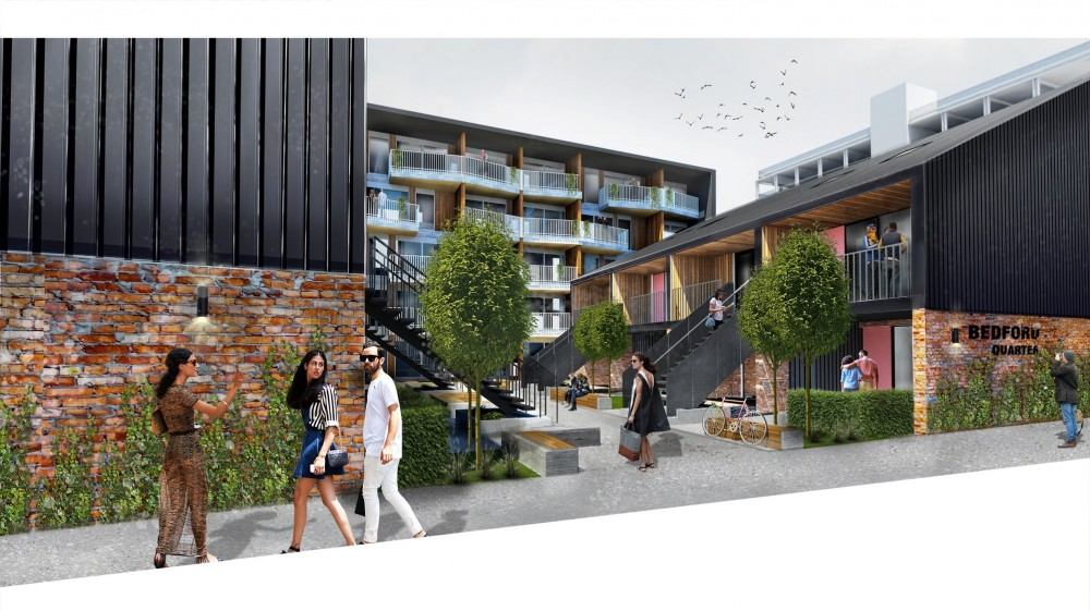 Artist impression - Bedford Apartments