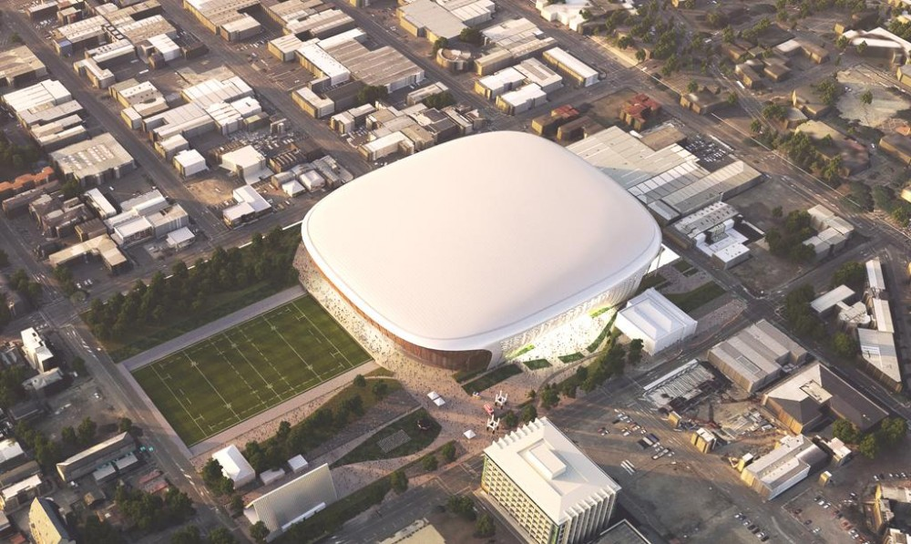 Multi-Use Arena artist impression