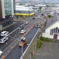 otakaro limited central city transport projects january 2018